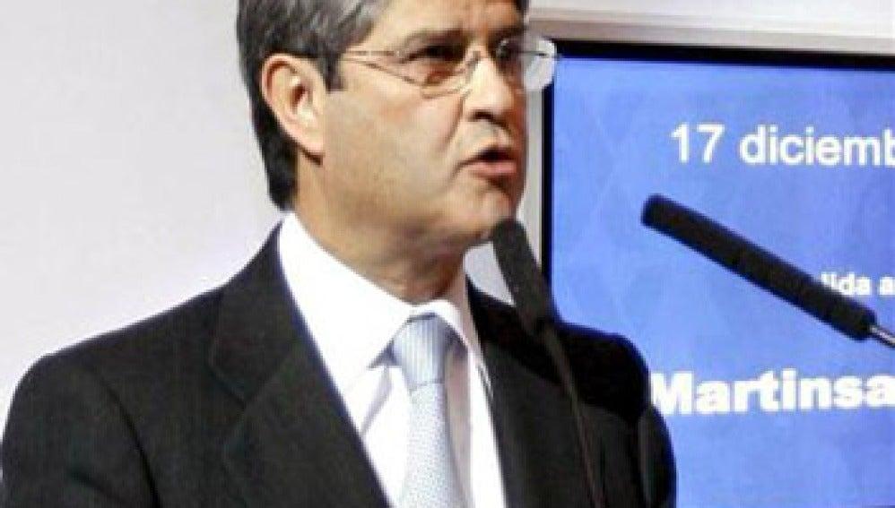 Fernando Martín, presidente de Martinsa- Fadesa