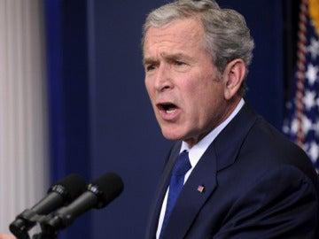 El expresidente de EEUU, George W. Bush