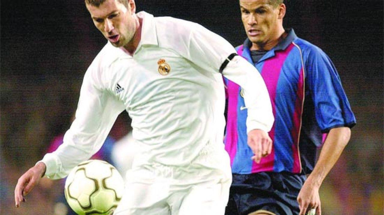 Zidane y Rivaldo, duelo galáctico