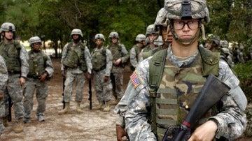 Soldados del ejército de EEUU, en una imagen de archivo