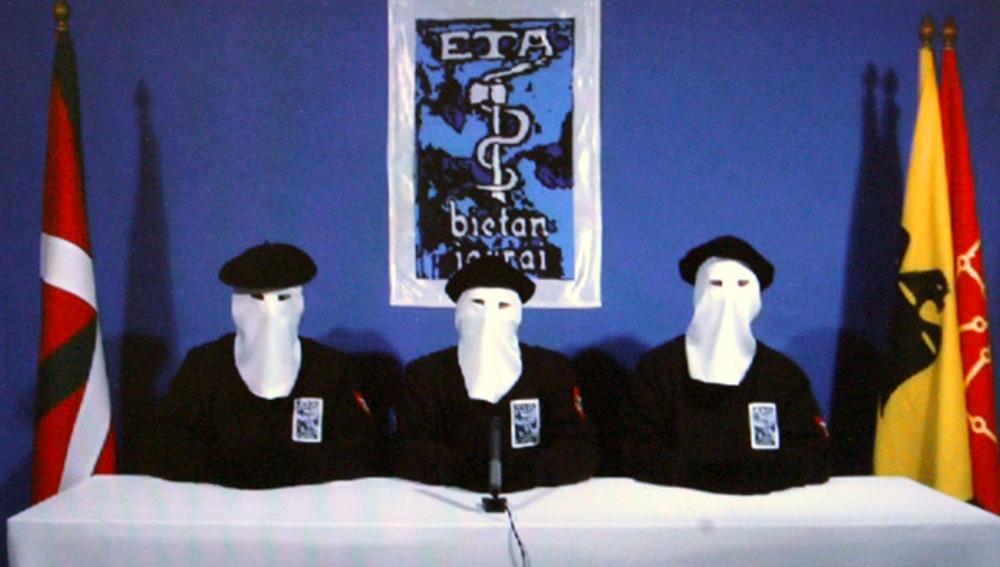 Miembros de la banda terrorista ETA