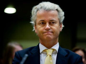 El líder ultraderechista Geert Wilders