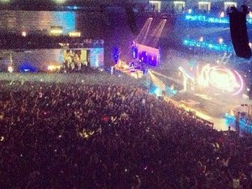 El Madrid Arena durante el festival de Halloween