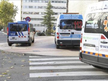 Varias ambulancias en Salamanca
