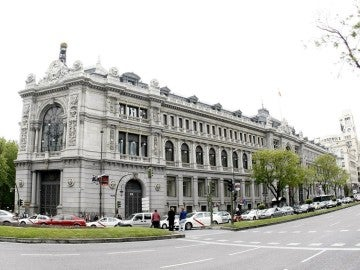 Vista de la fachada del Banco de España.