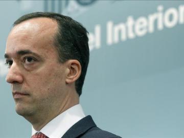 El exsecretario de Estado de Seguridad, Francisco Martínez