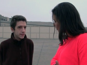 Jesús explica su situación a Alejandra Andrade