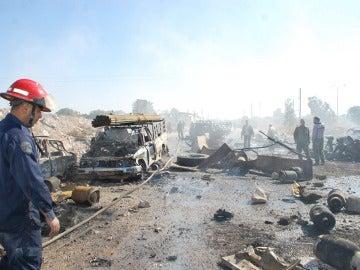 Al menos 30 muertos por la explosión de un camión bomba en Damasco