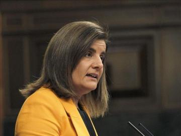 La ministra de Empleo y Seguridad Social, Fátima Báñez,