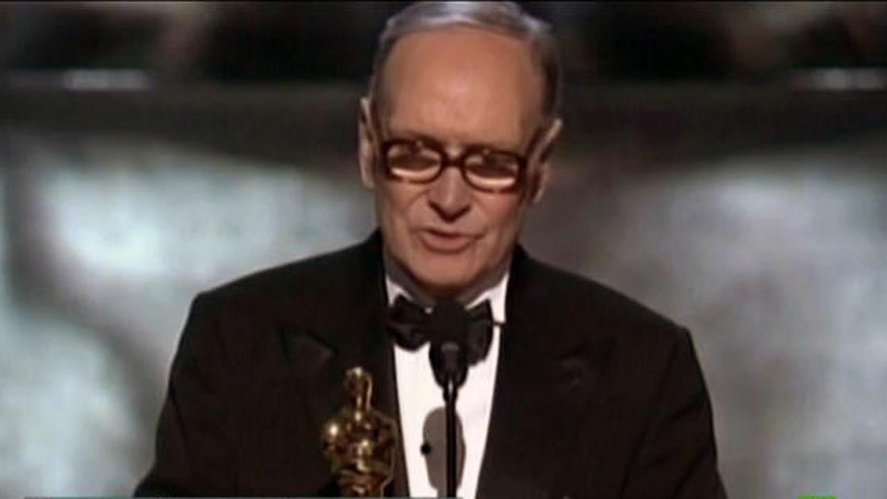 El compositor Ennio Morricone