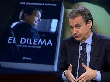 3 El expresidente Zapatero, en El Intermedio