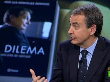 2 José Luis Rodríguez Zapatero gesticula en un momento de El Intermedio