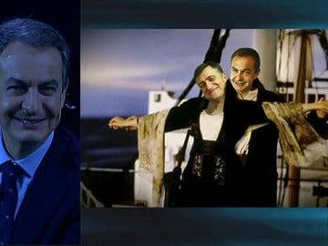 Zapatero y Wyoming, en versión 'Titanic'