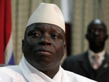 El presidente de Gambia Yahya Jammeh