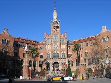 El Hospital Sant Pau de Barcelona,