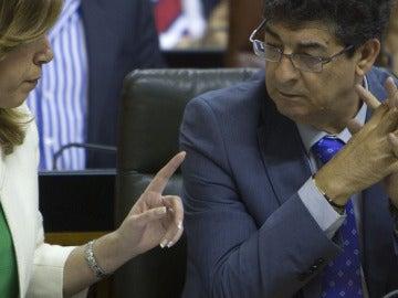 Susana Díaz y Diego Valderas