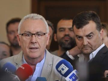 """IU ha acordado la """"suspensión momentánea"""" del acuerdo de Gobierno con el PSOE en Andalucía"""