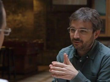 Jordi Évole charla con Jamil Chade