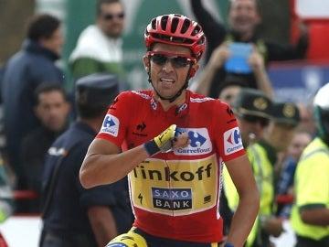 Alberto Contador, virtual ganador de la Vuelta a España