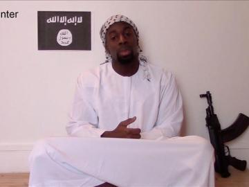 Amedy Coulibaly mandando un mensaje