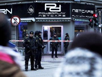 Varios detenidos en un cibercafé en Copenhague