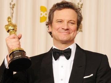 Colin Firth en los Oscar 2011