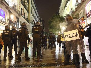 Disturbios durante la marcha de la dignidad