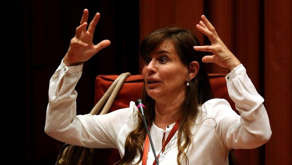 La expareja de Jordi Pujol Ferrusola, María Victoria Álvarez