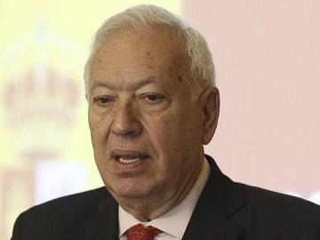 José Manuel García-Margallo, en Bulgaria
