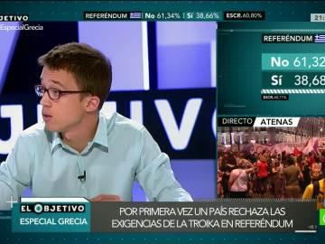 Íñigo Errejón en 'El Objetivo'