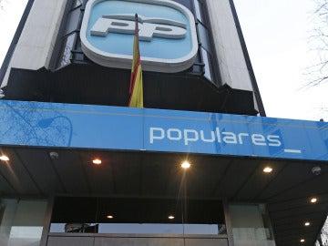 La sede del PP
