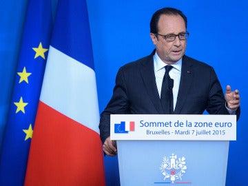 """Hollande declara que el programa de Grecia es """"serio y creible"""""""