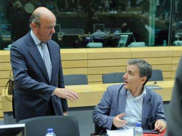El ministro de Economía y Competitividad de España, Luis de Guindos,