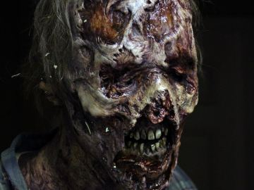 Imagen de archivo de un zombie de  'The Walking Dead'