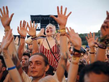 Fibers en el Festival de Benicàssim de Castellón