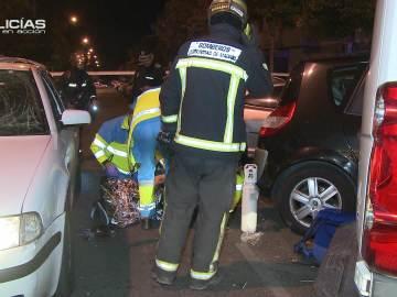 """Una explosión en un coche deja herido al conductor: """"Seguramente va a perder la pierna"""""""