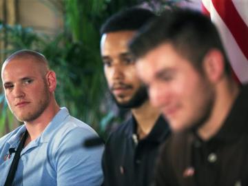 Spencer Stone y Alek Skarlatos, los dos militares que redujeron al atacante
