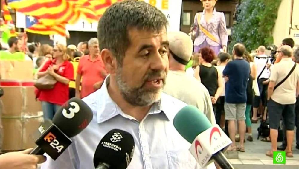 Jordi Sánchez, presidente de la Asamblea Nacional Catalana