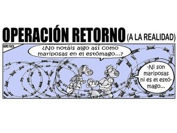 Operación retorno (a la realidad) (30-08-2015)
