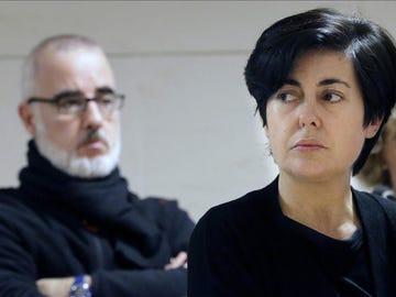 Rosario Porto, durante el juicio