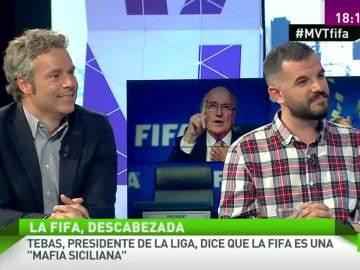 Óscar Rincón y Héctor Fernández en MVT