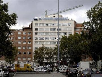 Fachada de la Fundación Jiménez Díaz
