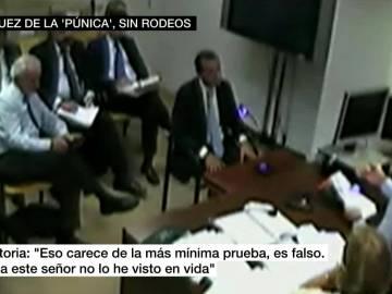 Salvador Victoria ante el juez