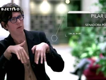 Pilar Lima, senadora de Podemo