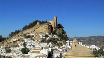 Vistas del pueblo de Montefrío