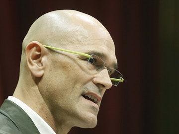 Raül Romeva, cabeza de lista de JxSí