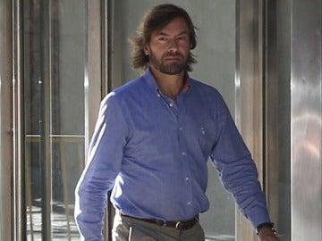 El juez Santiago Pedraz a su llegada a la Audiencia Nacional