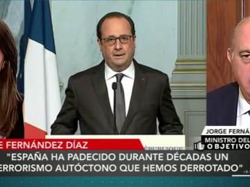 Fernández Díaz, ministro de Interior, en El Objetivo