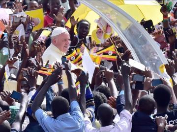 El papa Francisco llega a la República Centroafricana