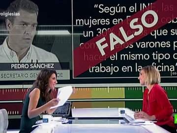 Prueba de Verificación a Pedro Sánchez